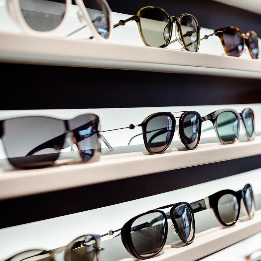 Brillenwahl